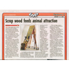 訪問及評論: Scrap woods feeds animal attraction - SCMP